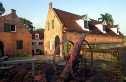 Fort Zeelandia (1667) in Paramaribo, Suriname, presently serves as the Stichting Surinaams Museum.