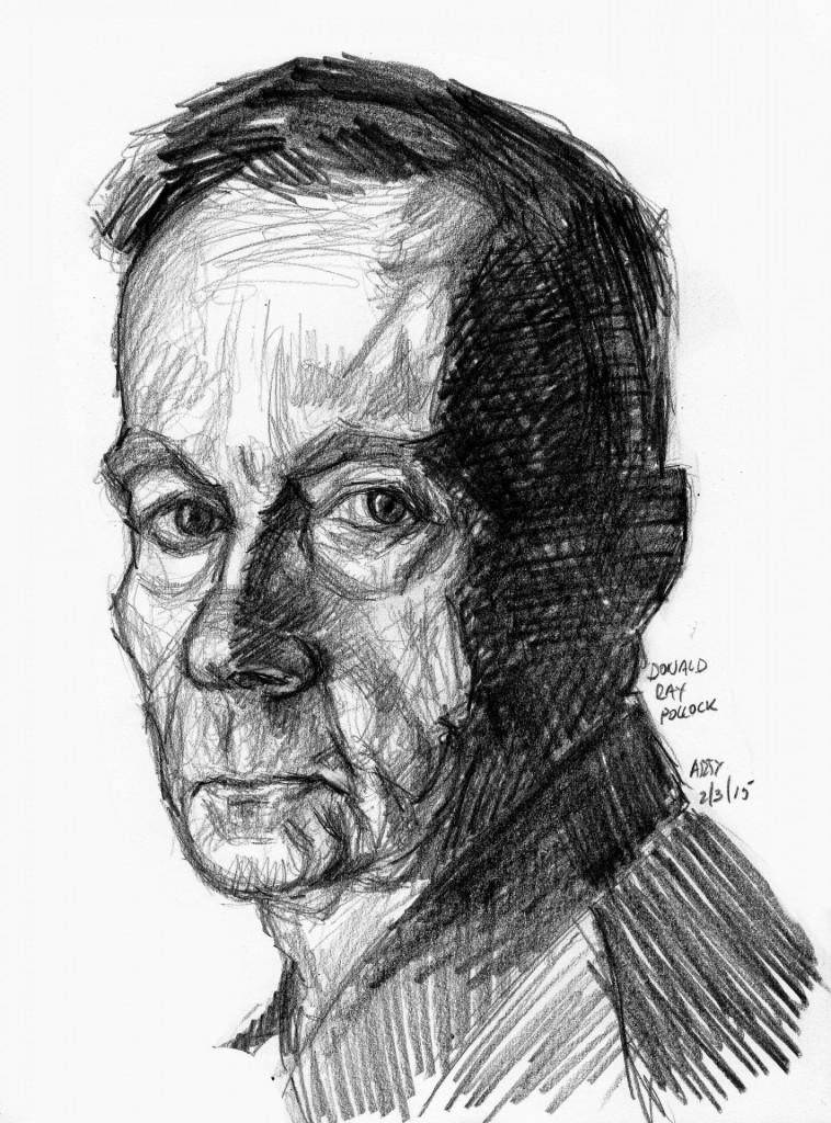 Arturo Espinosa tekening Pollock